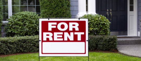 Properties to rent in the UK